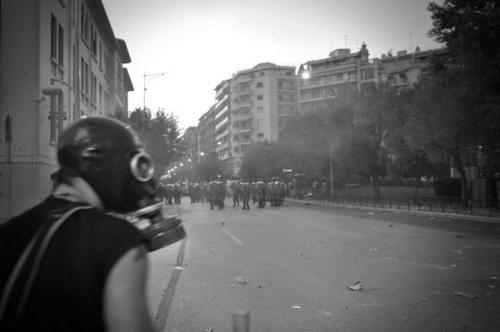 Olof Jarlbro Violent clashes between police and protesters in Thessaloniki Greece 10.jpg