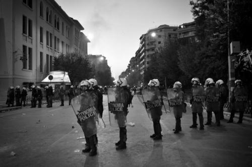 Olof Jarlbro Violent clashes between police and protesters in Thessaloniki Greece 11.jpg